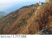 Рассвет на горе Ай-Петри, Крым (2009 год). Стоковое фото, фотограф Юрий Брыкайло / Фотобанк Лори