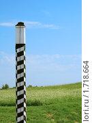 Купить «Верстовой столб», фото № 1718664, снято 13 июня 2009 г. (c) Дмитрий Грушин / Фотобанк Лори