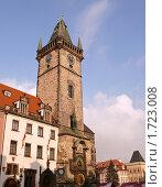 Городская ратуша на Староместской площади в г.Прага, Чехия (2010 год). Стоковое фото, фотограф Марков Николай / Фотобанк Лори