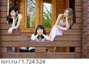 Купить «Три подруги на веранде», фото № 1724524, снято 8 мая 2010 г. (c) Зореслава / Фотобанк Лори