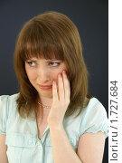 Купить «Эмоции. Слёзы», эксклюзивное фото № 1727684, снято 23 мая 2010 г. (c) Natalia Nemtseva / Фотобанк Лори