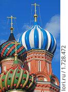 Купить «Собор Василия Блаженного (Покровский собор) в Москве», эксклюзивное фото № 1728472, снято 22 мая 2010 г. (c) lana1501 / Фотобанк Лори