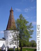 Купить «Воскресенская  башня  Иосифо-Волоцкого монастыря», фото № 1732472, снято 14 июня 2007 г. (c) Юлия  Лесина / Фотобанк Лори