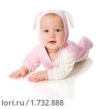 Купить «Девочка в костюме зайца», фото № 1732888, снято 29 сентября 2009 г. (c) Ольга Сапегина / Фотобанк Лори