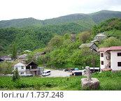 Деревня в горах, Армения. Стоковое фото, фотограф Татьяна Крамаревская / Фотобанк Лори