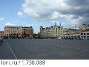 Купить «Выборг. Здания на Красной площади», фото № 1738088, снято 28 октября 2008 г. (c) Корчагина Полина / Фотобанк Лори