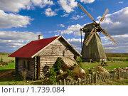 Ветряная мельница (2010 год). Стоковое фото, фотограф Вадим Францев / Фотобанк Лори