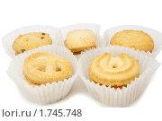 Печенье в бумажных стаканчиках. Стоковое фото, фотограф Андрей Андреев / Фотобанк Лори