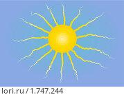 Купить «Солнце на небе», иллюстрация № 1747244 (c) Татьяна Васина / Фотобанк Лори