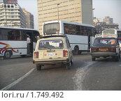 LADA на улицах Каира (2007 год). Редакционное фото, фотограф Игорь Мим / Фотобанк Лори