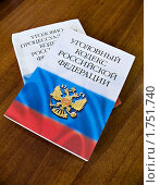 Уголовное законодательство Российской Федерации (2010 год). Редакционное фото, фотограф Марков Николай / Фотобанк Лори