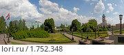 Купить «Панорама Патриаршей резиденции в Свято-Даниловом монастыре. Москва», эксклюзивное фото № 1752348, снято 23 мая 2010 г. (c) Виктор Тараканов / Фотобанк Лори