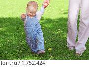 Купить «Первые шаги», фото № 1752424, снято 22 мая 2010 г. (c) Игорь Соколов / Фотобанк Лори