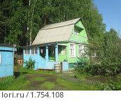 Купить «Садовый дом (дачный)», фото № 1754108, снято 5 июня 2010 г. (c) Людмила Банникова / Фотобанк Лори