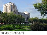 Дом на Рыбной площади в Харькове. Стоковое фото, фотограф Сергей Дыбтан / Фотобанк Лори