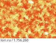 Фон огня или осенних листьев. Стоковая иллюстрация, иллюстратор Мирослав Лавренцов / Фотобанк Лори