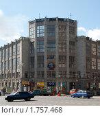 Купить «Центральный телеграф. Москва», фото № 1757468, снято 6 июня 2010 г. (c) Екатерина Овсянникова / Фотобанк Лори
