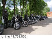 Стоянка мотоциклов. Стоковое фото, фотограф Галина Гаврилова / Фотобанк Лори