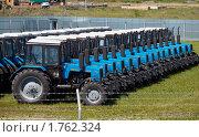 Купить «Продажа сельхозтехники», фото № 1762324, снято 9 июня 2010 г. (c) Andrey M / Фотобанк Лори