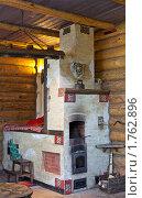 Деревенская печь (2010 год). Редакционное фото, фотограф Алексей Климков / Фотобанк Лори