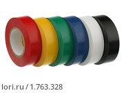 Разноцветная изолента. Стоковое фото, фотограф Игорь Веснинов / Фотобанк Лори