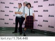 """Купить «Группа """"Jukebox"""" на гала-концерте """"Песни для Аллы""""», фото № 1764448, снято 10 июня 2010 г. (c) Юлия Жемкова (Хаки) / Фотобанк Лори"""