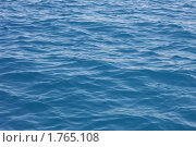 Купить «Поверхность синего моря», фото № 1765108, снято 10 июня 2010 г. (c) Галина Бурцева / Фотобанк Лори