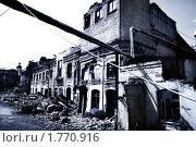 Купить «Мрачные развалины Кадашевской слободы. Второй Кадашевский переулок. Москва́», эксклюзивное фото № 1770916, снято 12 июня 2010 г. (c) Николай Винокуров / Фотобанк Лори