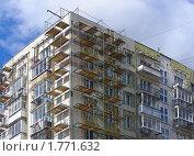 Купить «Фасад жилого дома», эксклюзивное фото № 1771632, снято 23 марта 2010 г. (c) lana1501 / Фотобанк Лори