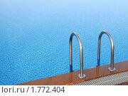 Лестница в бассейн. Стоковое фото, фотограф Анфимов Леонид / Фотобанк Лори