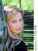 Портрет девушки. Стоковое фото, фотограф Михаил Лукьянов / Фотобанк Лори