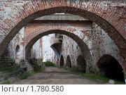 Галерея арок в монастыре (2007 год). Редакционное фото, фотограф Вероника Денега / Фотобанк Лори