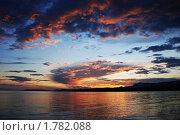 Купить «Закат», фото № 1782088, снято 28 июня 2009 г. (c) Лифанцева Елена / Фотобанк Лори