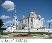Купить «Успенский собор в городе Владимире», фото № 1783188, снято 19 июня 2010 г. (c) Плотников Михаил / Фотобанк Лори