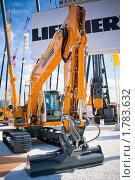 Купить «Гусеничный экскаватор R 916 Classic Litronic фирмы Либхерр», эксклюзивное фото № 1783632, снято 3 июня 2010 г. (c) Журавлев Андрей / Фотобанк Лори