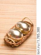 Купить «Золотые яйца», фото № 1785380, снято 28 февраля 2010 г. (c) Allika / Фотобанк Лори