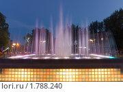 Светомузыкальный фонтан (2009 год). Редакционное фото, фотограф Сергей Шульгин / Фотобанк Лори