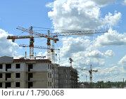 Купить «Строительство», фото № 1790068, снято 18 июня 2010 г. (c) Александр Кокарев / Фотобанк Лори