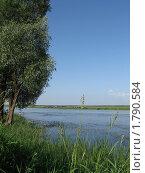 Летний день у реки. Стоковое фото, фотограф Владимир Далецкий / Фотобанк Лори