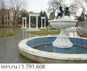 Купить «Город Минеральные воды, фонтан на проспекте Карла Маркса», фото № 1791608, снято 2 января 2010 г. (c) Владимир Горощенко / Фотобанк Лори