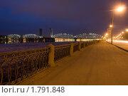 Санкт-Петербург, Железнодорожный мост (2010 год). Редакционное фото, фотограф Литвяк Игорь / Фотобанк Лори