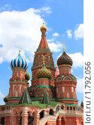 Собор Василия Блаженного на Красной площади в Москве (2010 год). Стоковое фото, фотограф juliagam / Фотобанк Лори