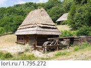 Купить «Старая водяная мельница», фото № 1795272, снято 20 июня 2010 г. (c) Владимир Белобаба / Фотобанк Лори