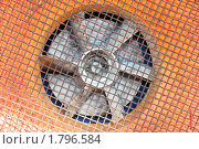 Купить «Вентилятор», фото № 1796584, снято 25 июня 2010 г. (c) Николай Лыжин / Фотобанк Лори