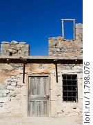 Купить «Заброшенный дом в средиземноморском стиле», фото № 1798076, снято 10 мая 2010 г. (c) Sergii Korshun / Фотобанк Лори