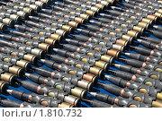 Купить «Снаряды к 30-ти миллиметровой автоматической пушке», фото № 1810732, снято 1 июля 2010 г. (c) Игорь Долгов / Фотобанк Лори