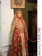Старинная древнерусская одежда (2010 год). Редакционное фото, фотограф Василий Кореньков / Фотобанк Лори