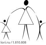 Купить «Семья», иллюстрация № 1810808 (c) Юрий Борисенко / Фотобанк Лори
