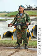 Купить «Десантник», фото № 1812152, снято 3 июля 2010 г. (c) Владимир Сергеев / Фотобанк Лори