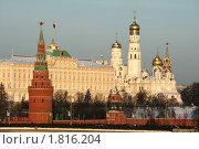 Купить «Московский Кремль», фото № 1816204, снято 5 января 2010 г. (c) Дмитрий Алимпиев / Фотобанк Лори